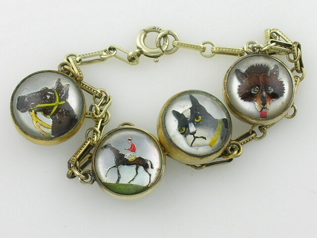 Fox Hunt Intaglio Bracelet