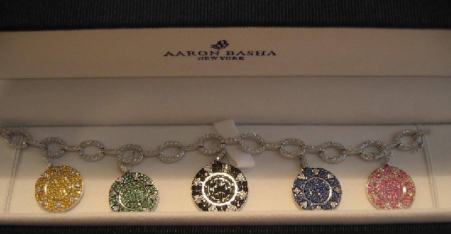 Aaron Basha's brilliant link bracelets