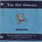 Wells Top Hat Charm Catalog – vintage 1953 –