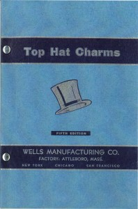 cover page of the 1953 charm catalog