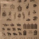 charm treasure 1956 flyer vintage charm catalog