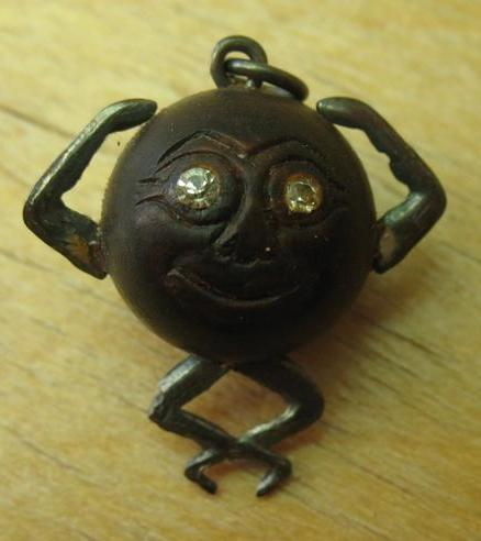 english ww1 touch wood sterling charm from member in Australia