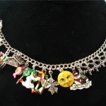 The Night Before Christmas storybook charm bracelet