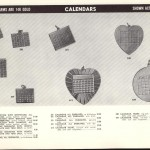 Calendars - American Charm Corp 14K gold 1950's