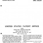 patent for the lampl spinning top