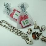 sandy's advent charm bracelet